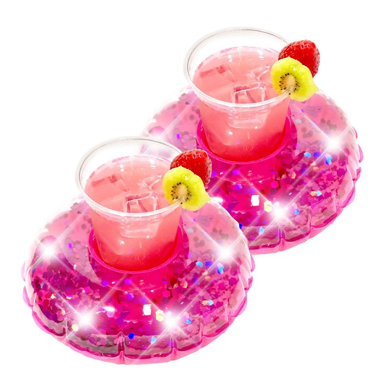 Glitter Drink Floats